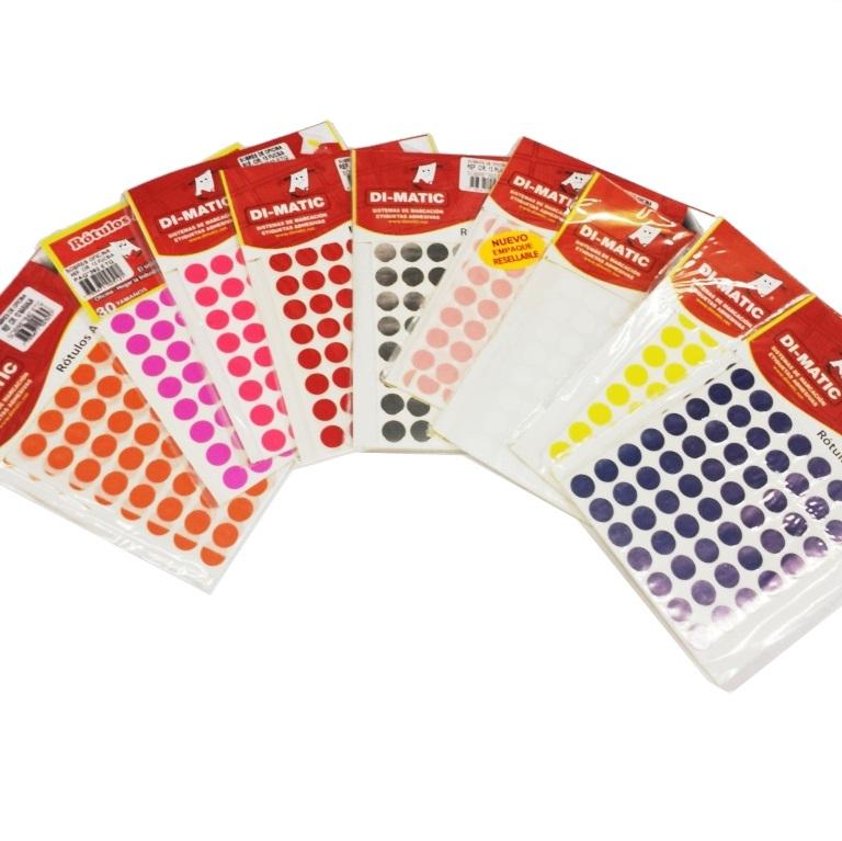 Papeler 237 A Modelo Rotulos Adhesivos En Colores